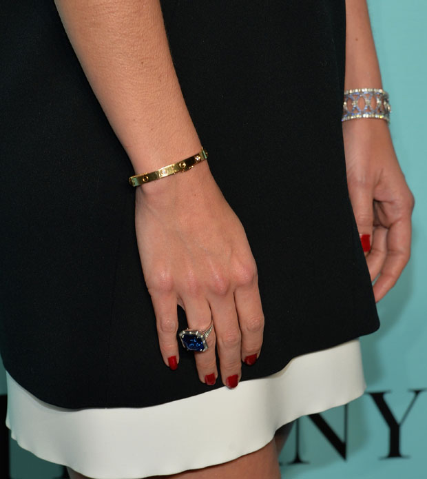 Katie Holmes in Balenciaga