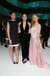 Katie Holmes in Balenciaga, Jessica Biel in Oscar de la Renta and Kate Bosworth in Katie Ermilio
