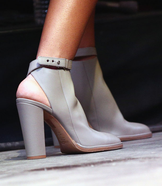 Solange Knowles' Vince 'Joanna' ankle-strap leather bootie