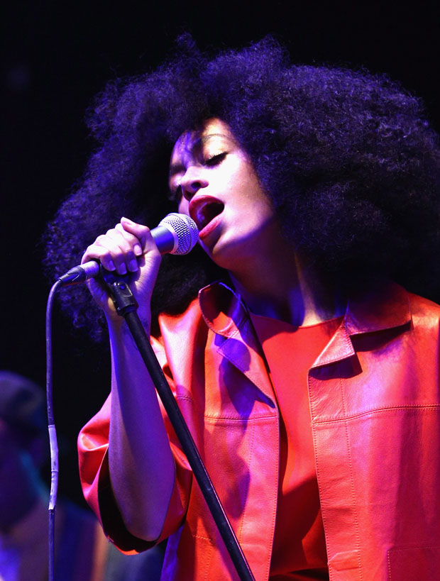 Solange Knowles in Max Mara