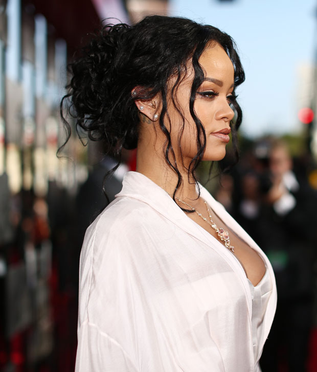 Rihanna in Ulyana Sergeenko Couture