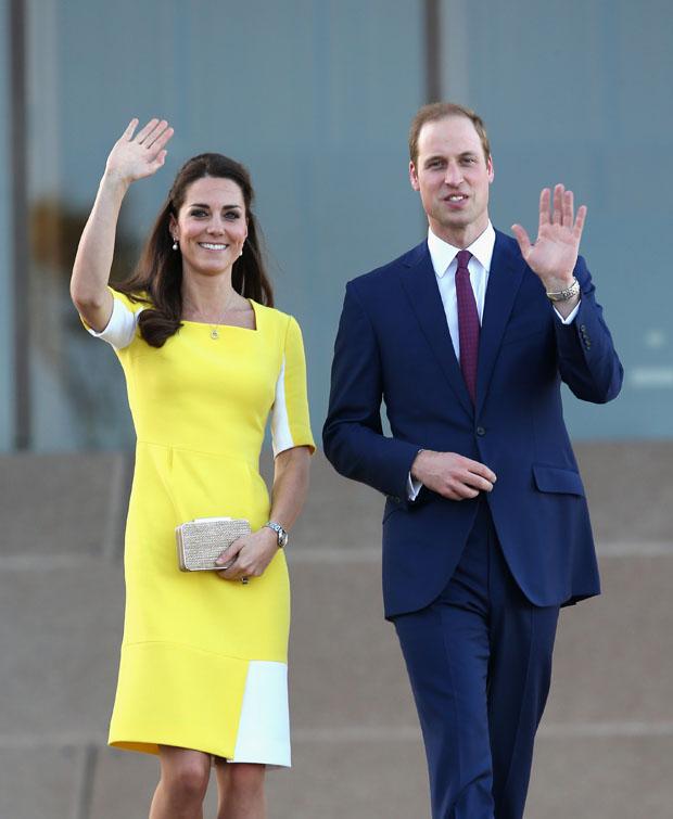 Catherine,  Duchess of Cambridge in Roksanda Ilincic