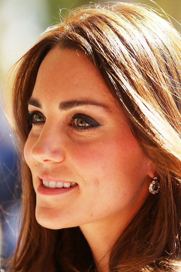 Catherine, Duchess of Cambridge in Diane von Furstenberg