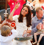 Catherine, Duchess of Cambridge in Zimmermann