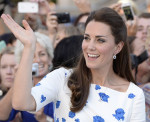 Catherine, Duchess of Cambridge in L.K. Bennett