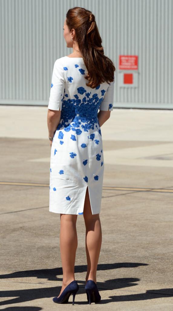 Catherine the Duchess of Cambridge looks so elegant in her