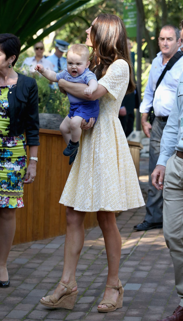 Catherine, Duchess of Cambridge in Rebecca English