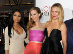 Nicki Minaj in Alexander McQueen, Leslie Mann in Monique Lhuillier  and Cameron Diaz in Stella McCartney