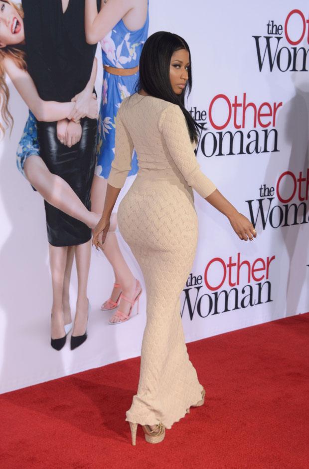 Nicki Minaj The Other Woman La Premiere Red Carpet