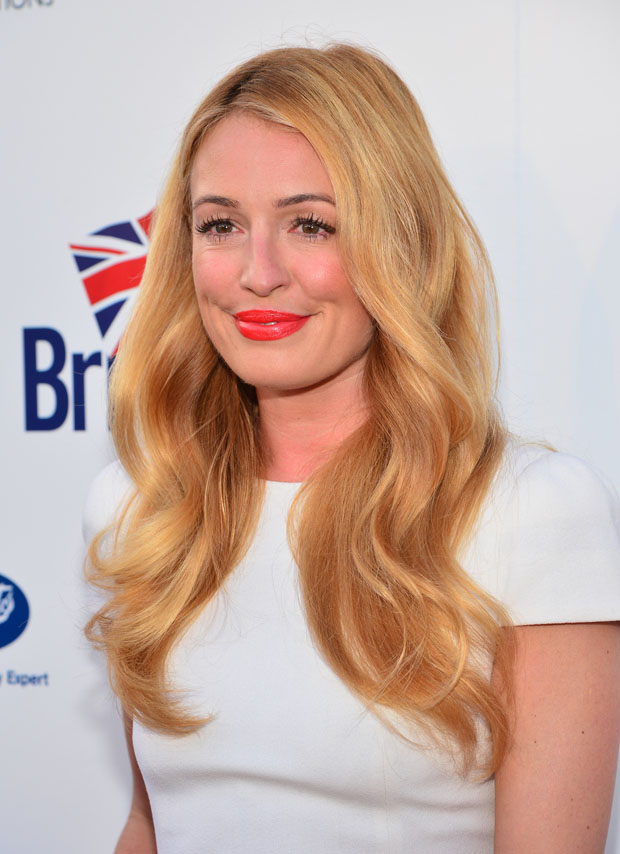Cat Deeley in Alexander McQueen