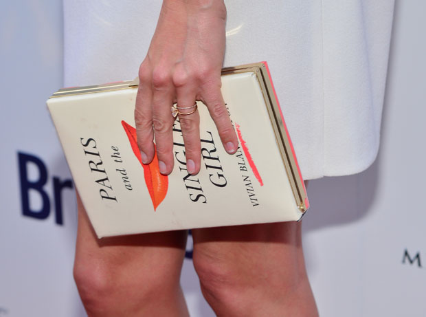 Cat Deeley's Kate Spade New York 'Paris and the Single Girl' Book Clutch