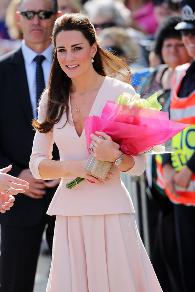 Catherine, Duchess of Cambridge in Alexander McQueen