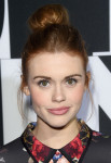 Holland Roden in Erin Fetherston