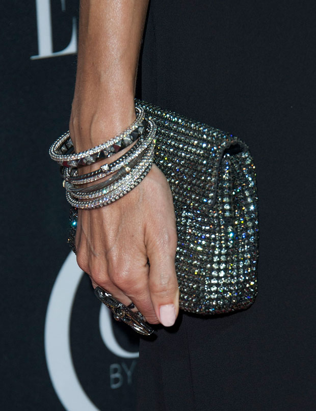 Stacy Keibler's Orton clutch