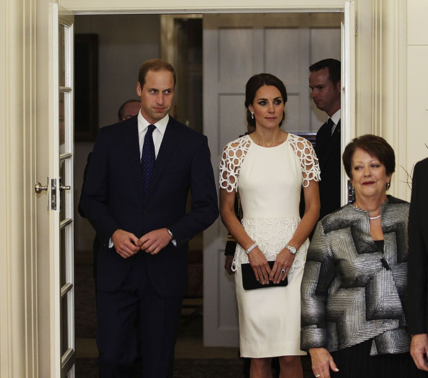 Catherine, Duchess of Cambridge in Lela Rose