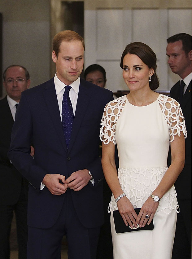 Catherine, Duchess of Cambridge in Lela Rose