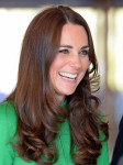 Catherine, Duchess of Cambridge in Catherine Walker