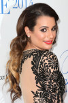 Lea Michele in Naeem Khan