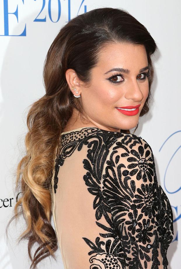 Lea Michele in Naeem Khan