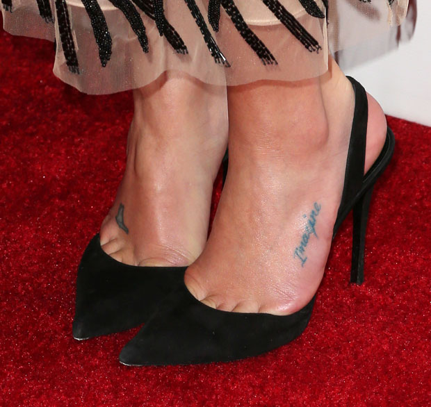 Lea Michele's shoes