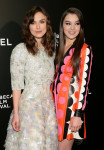 Keira Knightley in Chanel Couture and Hailee Steinfeld in Valentino