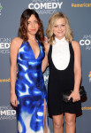 Aubrey Plaza in Viktor & Rolf and Amy Poehler in Ralph Lauren
