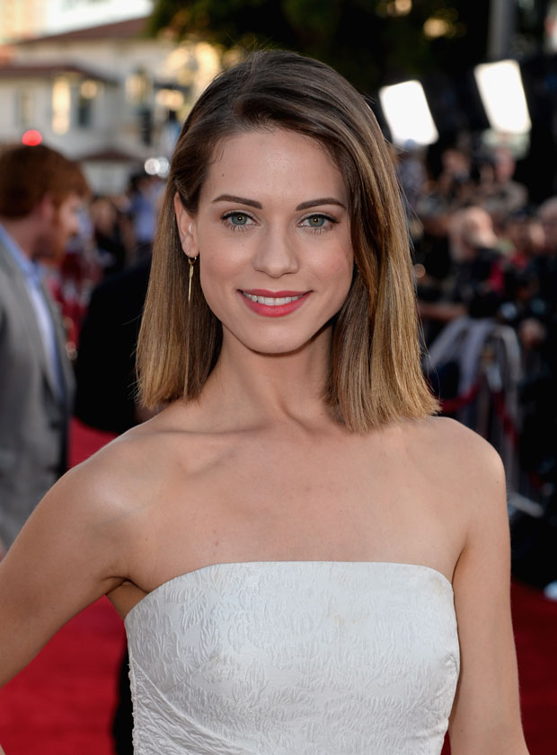 Lyndsy Fonseca in  Badgley Mischka