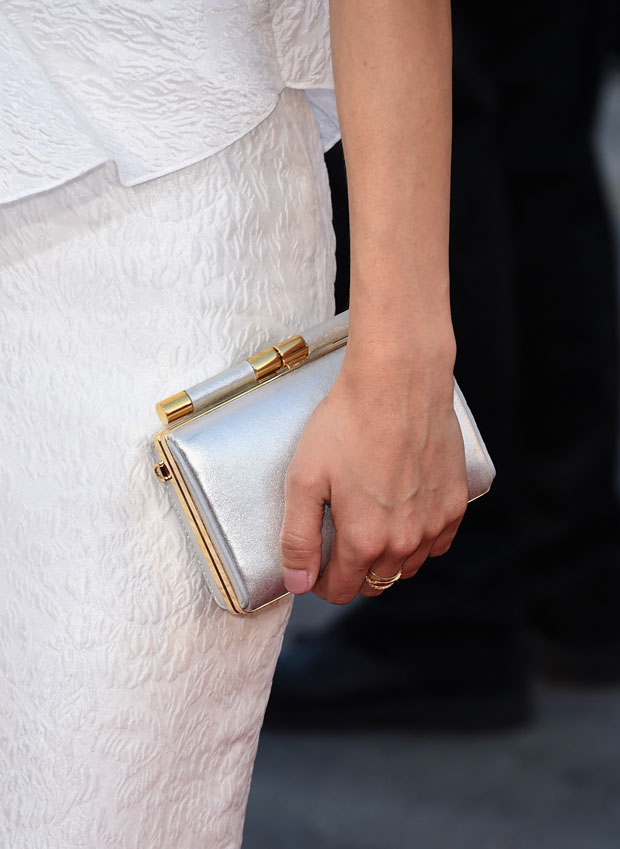 Lyndsy Fonseca's clutch