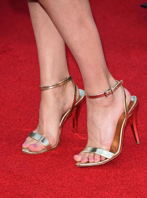 Lyndsy Fonseca's shoes