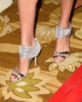 Angie Harmon's Oscar de la Renta shoes