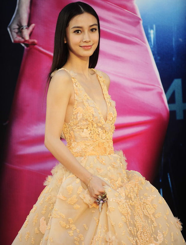 Angelababy in Zuhair Murad Couture