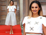 Alesha Dixon In Tibi - 'Britain's Got Talent' London Photocall
