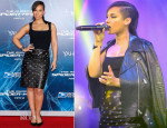 Alicia Keys In BCBG Max Azria - 'The Amazing Spider-Man 2: Rise Of Electro' New York Premiere