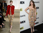 Alison Brie In Marchesa - 'Mad Men' Season 7 LA Premiere