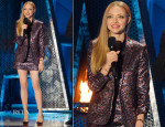 Amanda Seyfried In Saint Laurent - MTV Movie Awards 2014