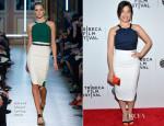 America Ferrera In Roland Mouret - 'X/Y' Tribeca Film Festival Premiere