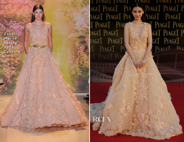 Angelababy In Zuhair Murad Couture - 33rd Hong Kong Film Awards