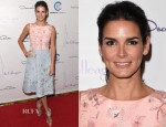 Angie Harmon In Oscar de la Renta - The Colleagues' 26th Annual Spring Luncheon