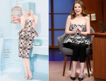 Anna Kendrick In Kate Spade New York - Late Night with Seth Meyers