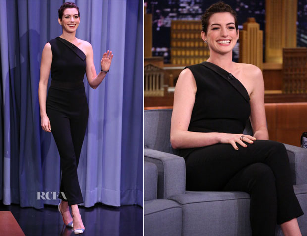 Anne Hathaway In Osman - Tonight Show Starring Jimmy Fallon