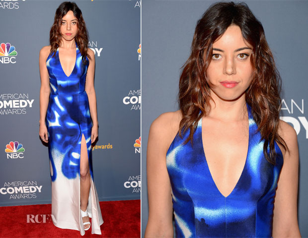 Aubrey Plaza In Viktor & Rolf - American Comedy Awards 2014