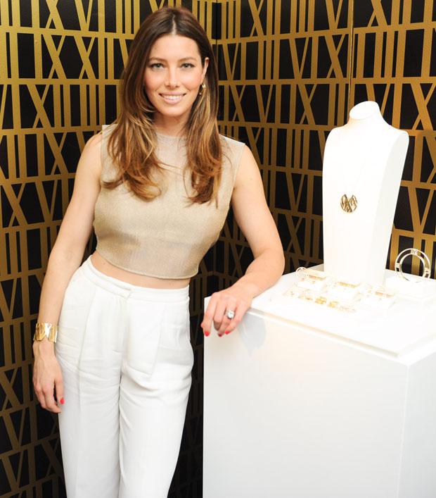 Jessica Biel in Vionnet