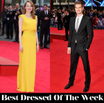 Best Dressed Of The Week - Emma Stone In Atelier Versace & Andrew Garfield In Alexander McQueen