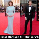 Best Dressed Of The Week - Gemma Arterton In Prada & Tom Hiddleston In Alexander McQueen