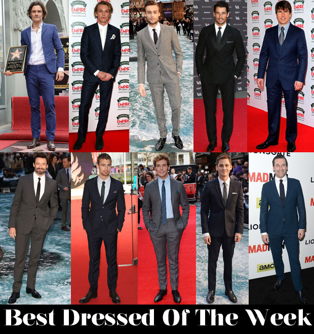 Best Dressed Of The Week Men 4 April