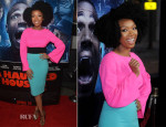 Brandy Norwood In Fausto Puglisi - 'A Haunted House 2' LA Premiere