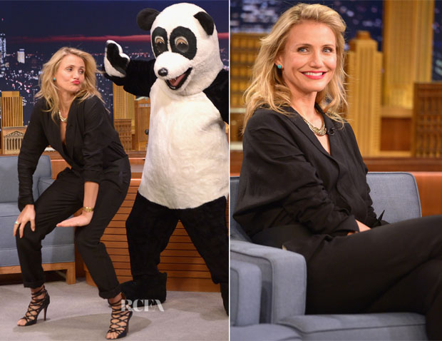Cameron Diaz In Isabel Marant - The Tonight Show Starring Jimmy Fallon
