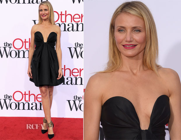 Cameron Diaz In Stella McCartney - 'The Other Woman' LA Premiere
