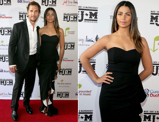 Camila Alves In Badgley Mischka - Mack, Jack & McConaughey Gala