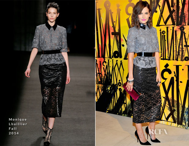 Camilla Belle In Monique Lhuillier - Jimmy Choo's CHOO